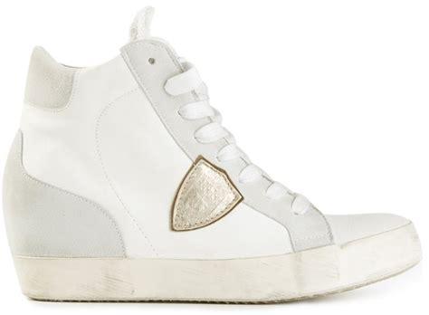 Bleser Set Blazer Miranda Wedges philippe model wedge hi top sneaker where to buy how to wear