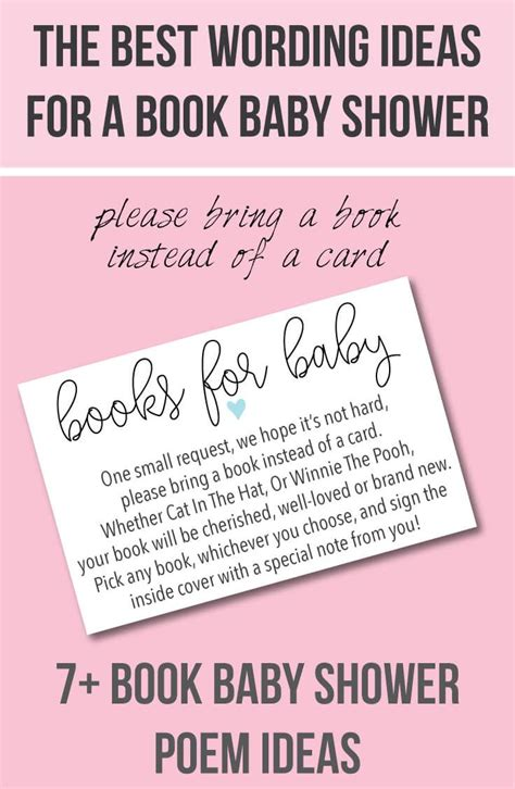 Baby Shower Bring A Book Wording by Best 25 Baby Shower Invitation Wording Ideas On