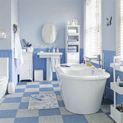 Light Blue Bathroom Paint Blue Bathroom Bathrooms Design Ideas Image Housetohome Co Uk