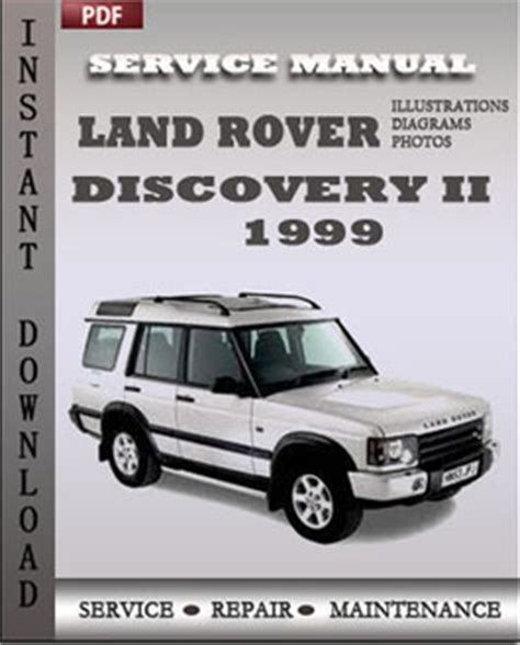 automotive air conditioning repair 1999 land rover discovery engine control land rover discovery 2 1999 service repair manual repair