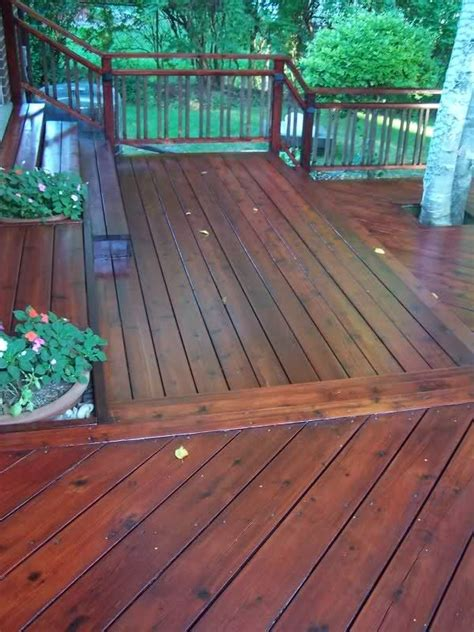 sikkens cetol dek finish  mahogany deck ideas