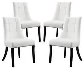 high gloss glass dining table modern noblesse vinyl dining chair set of  in white dining chairs noblesse