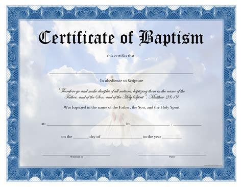 baptism certificate templates free baptism certificate templates at
