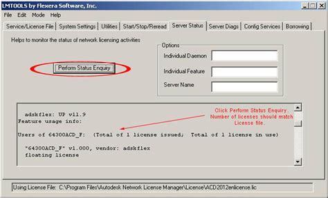 autodesk point layout network license solved quick start guide for configuring lmtools