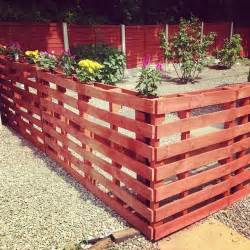 Pallet garden fence pallets designs pin diy pallet privacy fence ideas