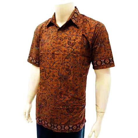 Kemeja Batik Kode Bp 3855 batik bagoes kemeja pria batik tulis kode bp 3353