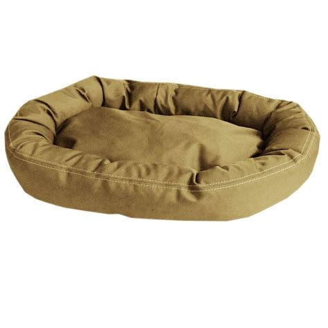 tuff bed carolina pet company brutus tuff comfy cup large khaki bed