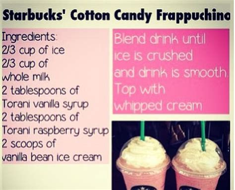make your own cotton frap