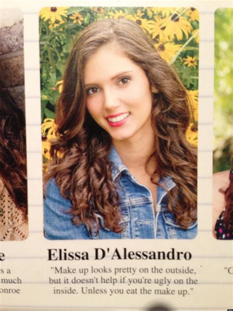 how ti do a senior mans makeover makeup yearbook quote lends some interesting advice photo
