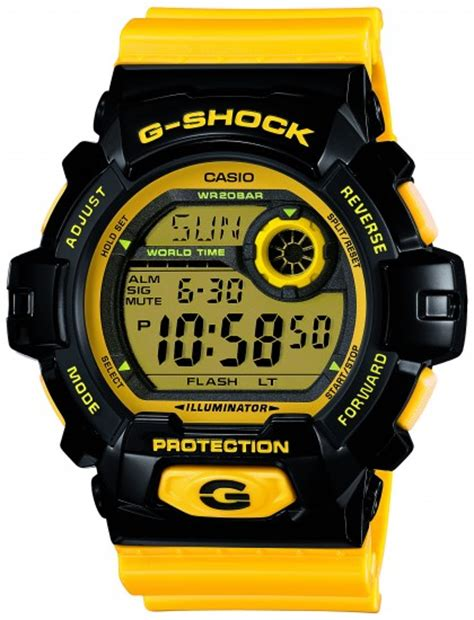 Casio G Shock G8900sc 1r casio g shock presents new color watches your new