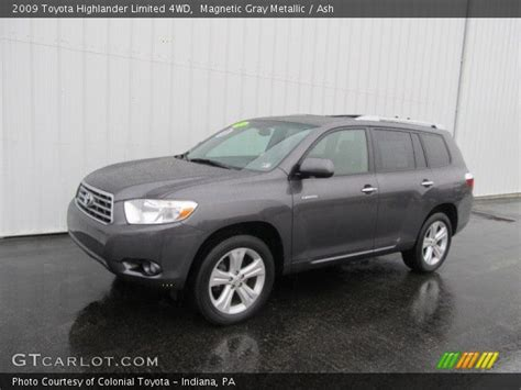 2009 Toyota Highlander Limited Magnetic Gray Metallic 2009 Toyota Highlander Limited