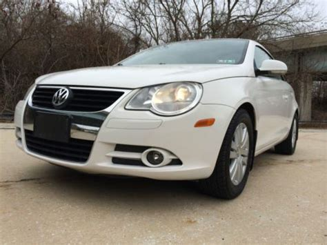 sell used 2008 volkswagen eos 2 0t convertible 2 door 2 0l in southington connecticut united sell used 2008 volkswagen eos 2 0t convertible 2 door 2 0l in norristown pennsylvania united
