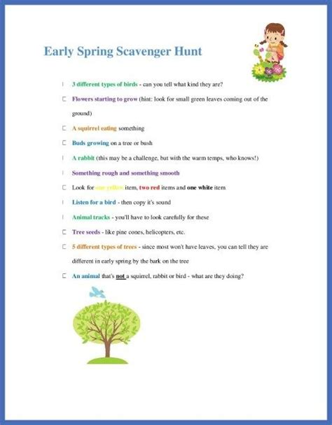 Backyard Scavenger Hunt Ideas 107 Best Scavenger Hunts Images On Pinterest Knowledge Nature Scavenger Hunts And School