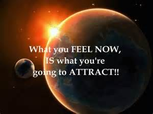 thoughts become things the universal law of attraction
