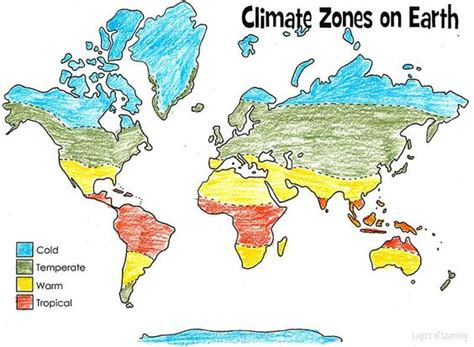 usa map ks2 print and color this climate zones of earth map this is