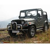 Rumour Mahindra Roxor Based On Thar To Launch In USA