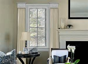 livingroom window treatments cornice window treatments