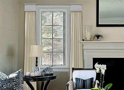 Contemporary Window Cornice Cornice Window Treatments