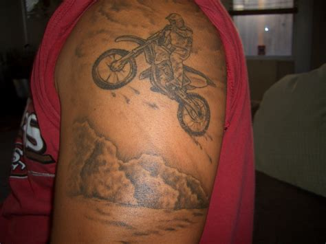 motocross tattoo mx poco stile tanto zarro whip