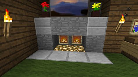 2 Bedroom Tiny House my fireplace kept burning my log cabin down minecraft