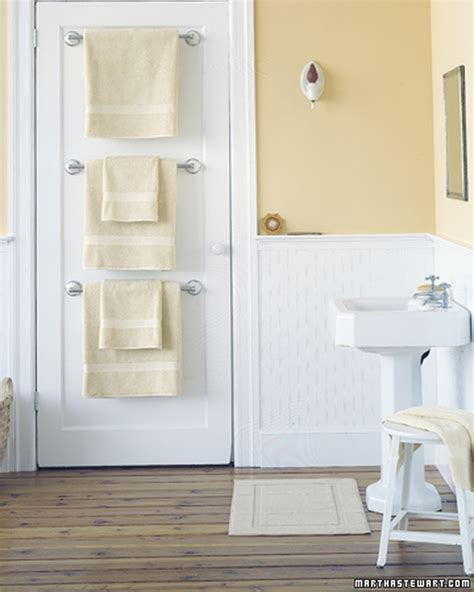 Where To Place Towel Bars In Bathroom by 25 Bathroom Organizers Martha Stewart