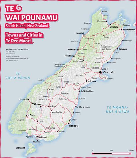 best boat names nz te wai pounamu te reo maori map of south island towns and