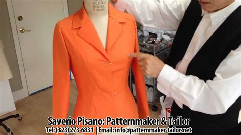 Jacket Pattern Making Youtube | making womens jacket with darts by los angeles