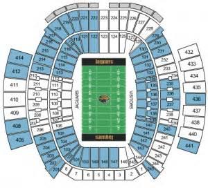 Jaguar Stadium Seating Chart Jacksonville Jaguars Tickets 2017