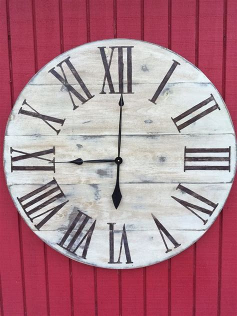 clocks oversized numeral wall clock large numeral wall clock large metal