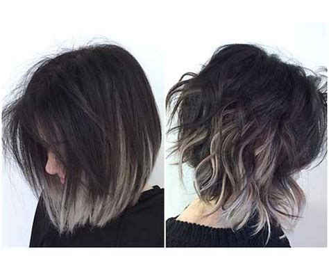 is the hairstyle where you only dye your bottom blond still really in style unique colored bob hairstyles you should see bob