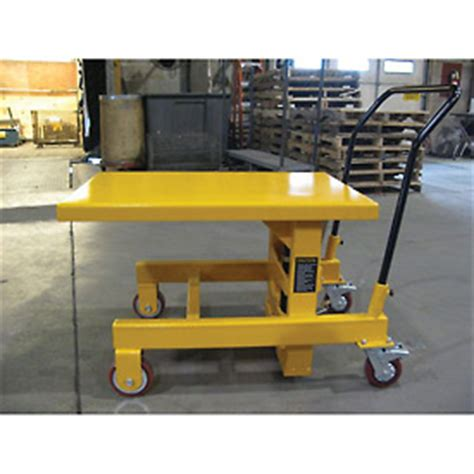 wesco 174 hydraulic die lift table 273265 2000 lb capacity