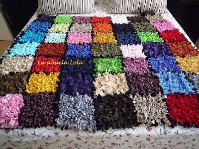alfombras recicladas camisetas la abuela lola alfombra de camisetas trapillo