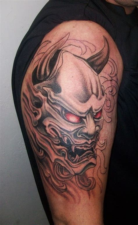 oni mask tattoo best 25 oni mask ideas on oni