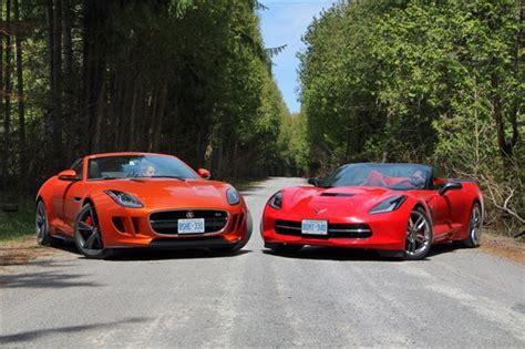 comparison test 2014 jaguar f type convertible vs 2014