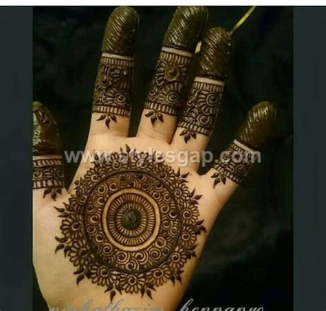 peacock round tikki mehndi designs latest collection 2018 2019