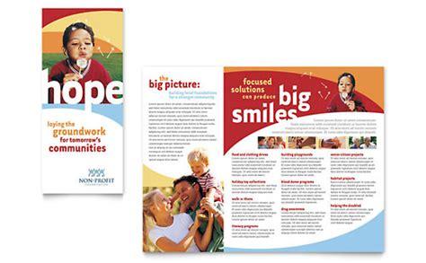 non profit marketing brochures flyers graphic designs