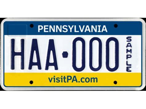 Penndot Registration Sticker