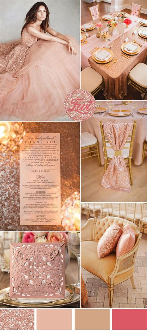 theme rose gold 1000 images about rose gold wedding ideas on pinterest