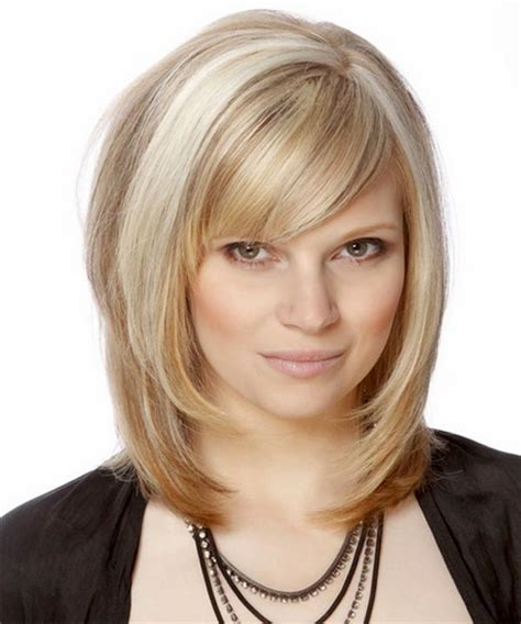 medium haircut with bangs medium layered haircuts with bangs