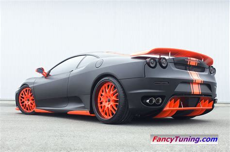 ferrari black hamann ferrari f430 black miracle car tuning
