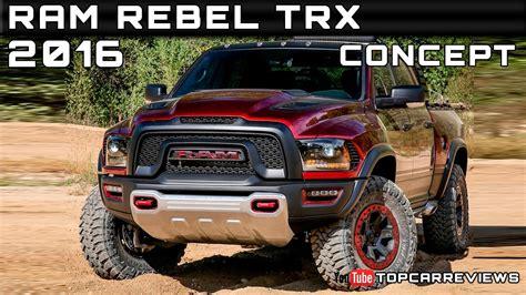 ram rebel prices 2016 ram rebel trx concept review rendered price specs