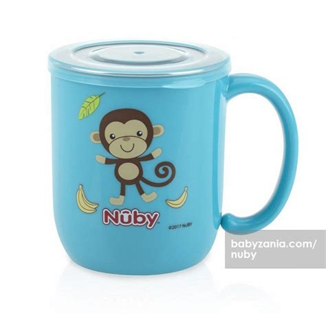Nuby Kit Alat Kesehatan Bayi Murah jual murah nuby stainless mug with lid 240 ml blue