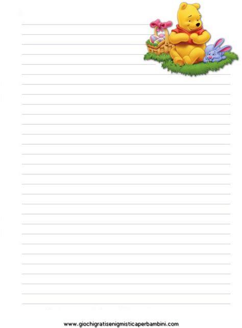 carta da lettere per bambini winnie the pooh lettera giochi per bambini