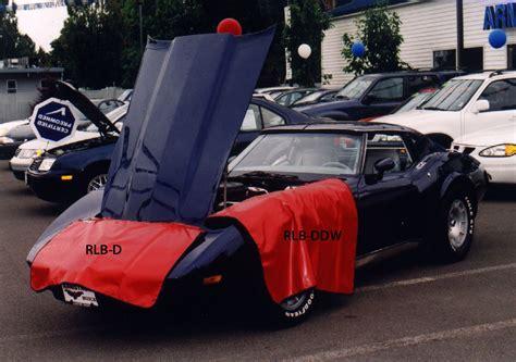 corvette fender cover fender covers for classic corvettes