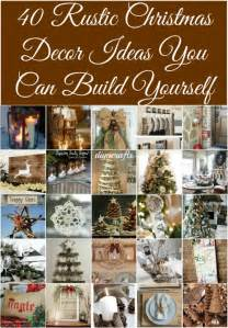 40 rustic decor ideas you can build yourself