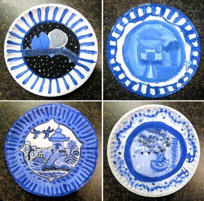 willow pattern worksheet chinese porcelain project i just did a similar one but