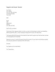 Resume Thank You Letters Sles by Resignation Letter Sle Tags Write Template Formal