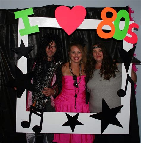 themes for photo booth 80 s party polaroid photo booth party 80s theme