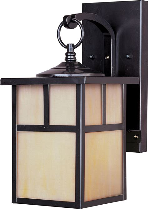 Craftsman Outdoor Light Fixtures by Maxim Lighting 4053hobu Craftsman Transitional Outdoor Wall Sconce Mx 4053 Hobu