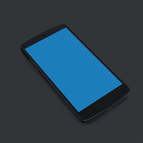 mobile nexus 5 nexus 5 black mobile handset psd psd